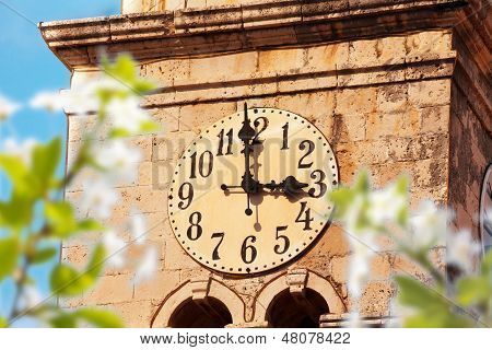 Cavtat-Uhrturm