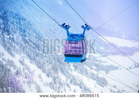 Cable Car For Ski Lifting