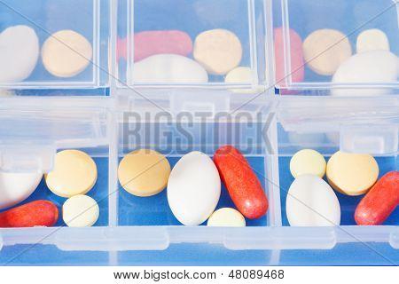 Recipiente com drogas