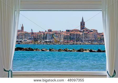 Alghero And Window