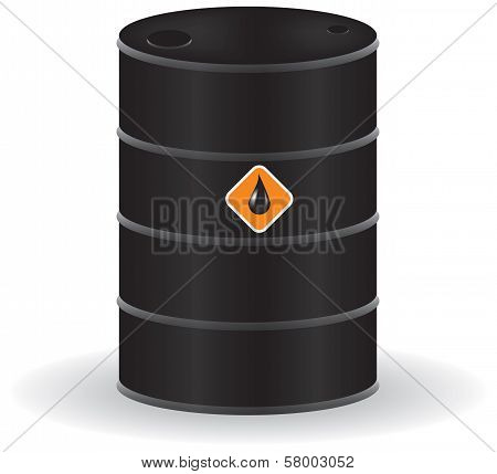 Oil barrel