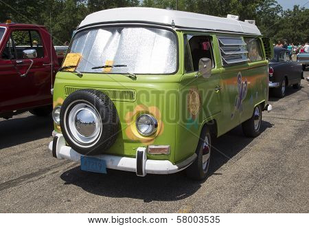 1968 Vw Hippie Camper Special Van Full View