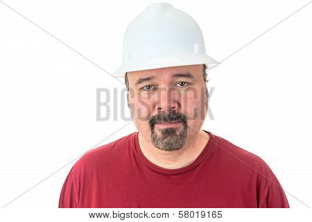 Workman Or Technician With A Goatee Beard