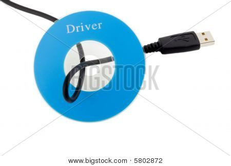 Cable Usb In Cd Disk
