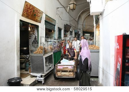 Fast Food In The Medina