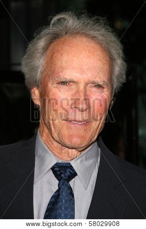 Clint Eastwood  at the party celebrating the release of the