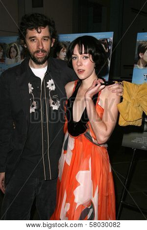 Martin Hynes and Jena Malone  at the Los Angeles Premiere of