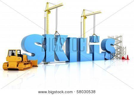 Building skills concept