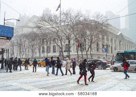 Sixth Ave Snow
