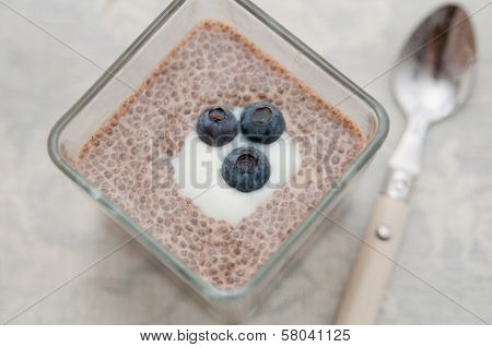 Vegan Chia Seeds Pudding