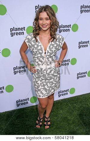 Olesya Rulin  at the Planet Green Premiere and Concert. Greek Theater, Los Angeles, CA. 05-28-08