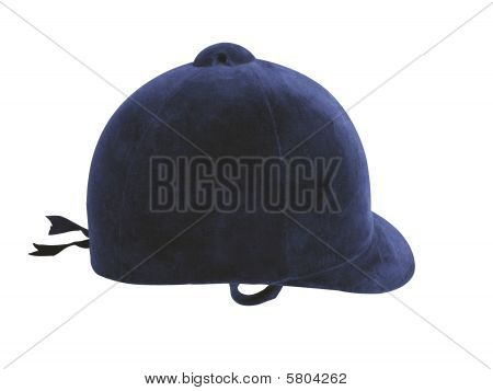 Riding Hat Blue
