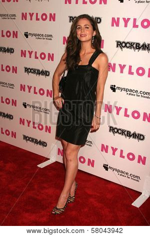 Eliza Dushku  at the Nylon Magazine and Myspace Party. Private Location, Los Angeles, CA. 06-03-08