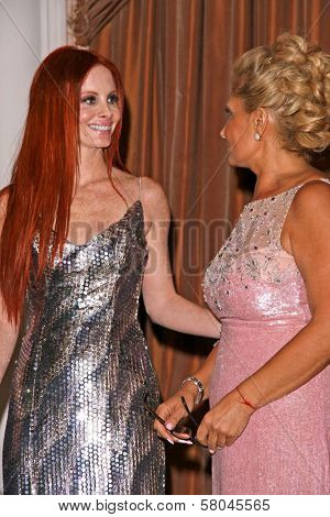 Phoebe Price and Gila Michael  at the Neuromuscular Disease Foundation Spring Gala Dinner and Casino Night. Beverly Hills Hotel, Beverly Hills, CA. 06-05-08