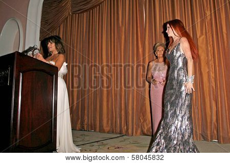 Paula Abdul with Gila Michael and Phoebe Price  at the Neuromuscular Disease Foundation Spring Gala Dinner and Casino Night. Beverly Hills Hotel, Beverly Hills, CA. 06-05-08