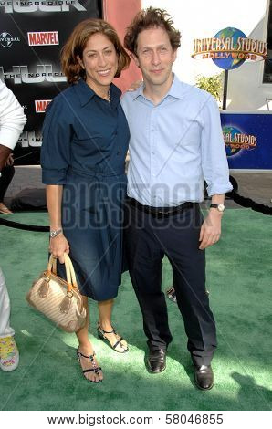 Lisa Benavides and Tim Blake Nelson  at the World Premiere of