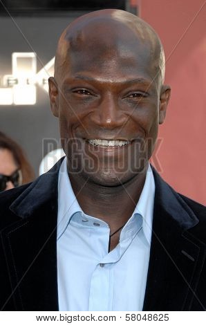 Peter Mensah  at the World Premiere of