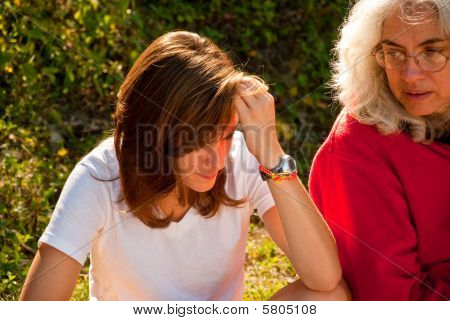 Mother Daughter talk