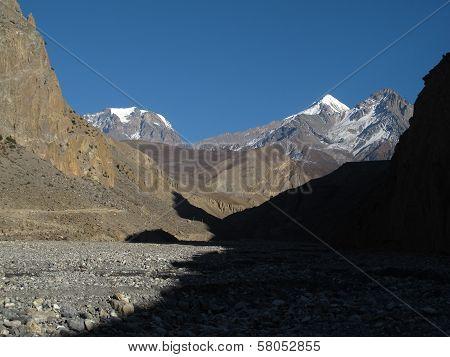 Landscape near Jomosom, Nepal