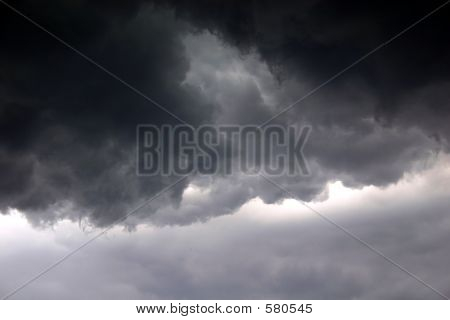 Wütend Himmel