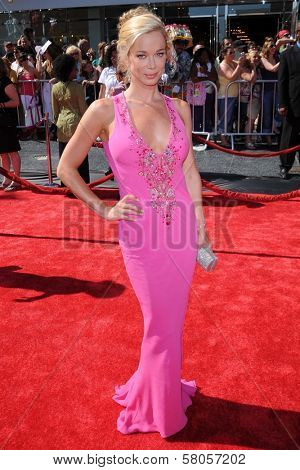Jennifer Gareis  arriving at  the 35th Annual Daytime Emmy Awards. Kodak Theatre, Hollywood, CA. 06-20-08