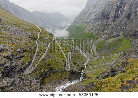 Trollstigen Mountain Road