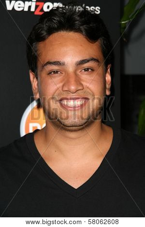 Frank Delgado  at the Verizon Palm Centro Launch Party. Elevate Lounge, Los Angeles, CA. 06-26-08