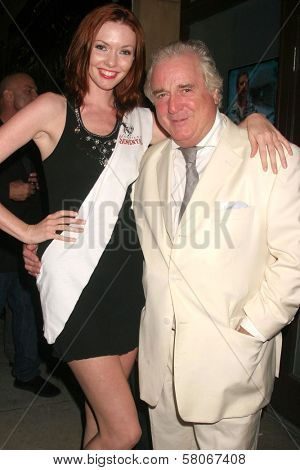 Amanda Fields and Clement von Franckenstein  at the world premiere screening of