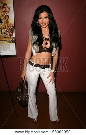 Rebeca Linares  at the Preview Screening of