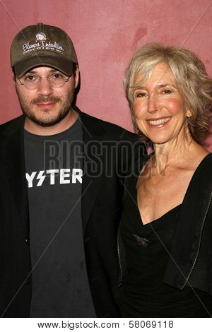 Adam Rifkin and Lin Shaye  at the Preview Screening of