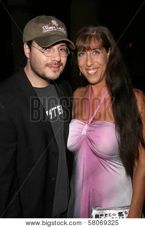 Adam Rifkin and DeeDee Bigelow  at the Preview Screening of