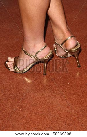 Alana Curry's Shoes  at the Preview Screening of