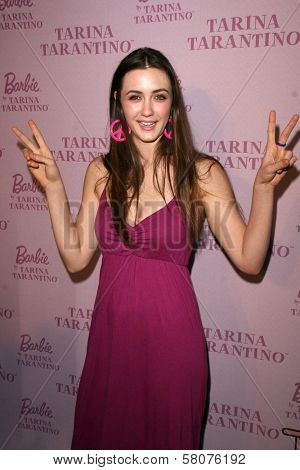 Madeline Zima at the Pink Plastic Party of the Year celebrating the launch of the Tarina Tarantino Barbie Doll. Tarina Tarantino, Los Angeles, CA. 07-17-08