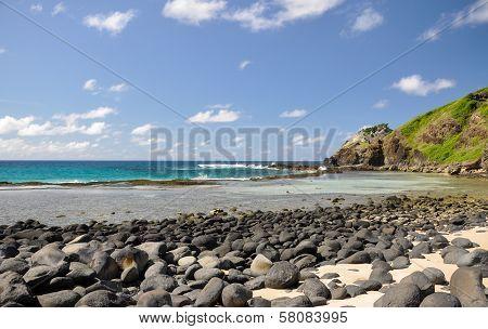 Stone Beach In Fernando De Noronha, Pernambuco (brazil)