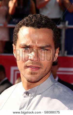 Jesse Williams at the 2012 ESPY Awards Arrivals, Nokia Theatre, Los Angeles, CA 07-11-12