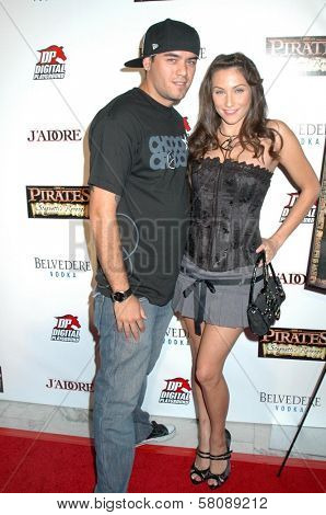 Celeste Starr at the Premiere of 'Pirates 2'. Orpheum Theatre, Los Angeles, CA. 09-27-08