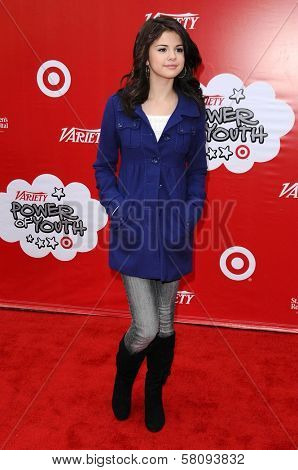 Selena Gomez at the 'Power Of Youth' event benefiting St. Jude. L.A. Live, Los Angele, CA. 10-04-08 at