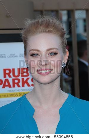 Deborah Ann Woll at the