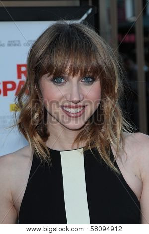 Zoe Kazan at the