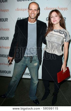 Edoardo Ponti and Sasha Alexander  at the 2007 Glamour Reel Moments Party. Directors Guild Of America, Los Angeles, CA. 10-09-07