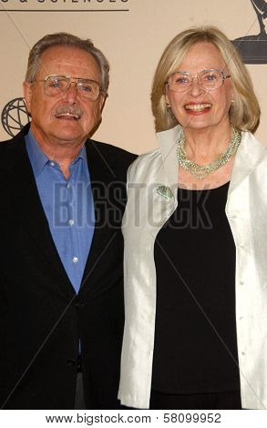 William Daniels and Bonnie Bartlett  at the