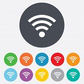 picture of fi  - Wifi sign - JPG