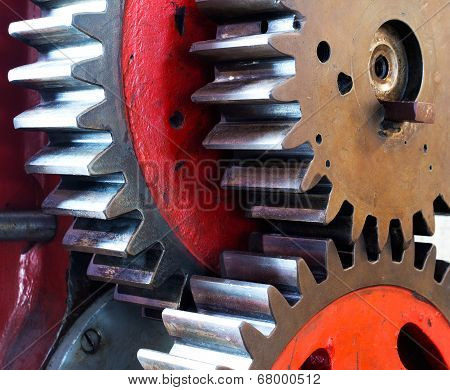 Pinion Gear Of Mechanical Machine