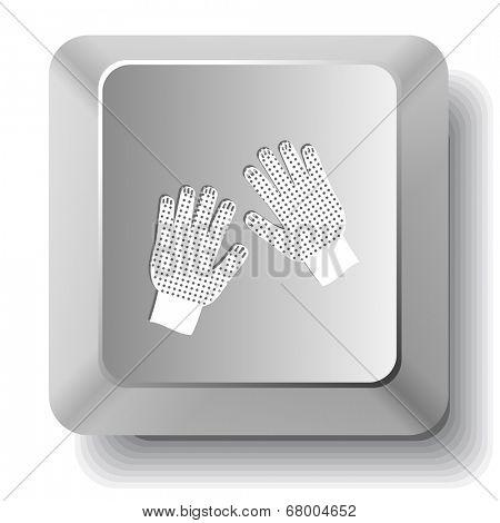 Gauntlets. Raster computer key.