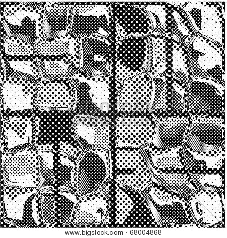Seamless Texture Of Patterned Dots