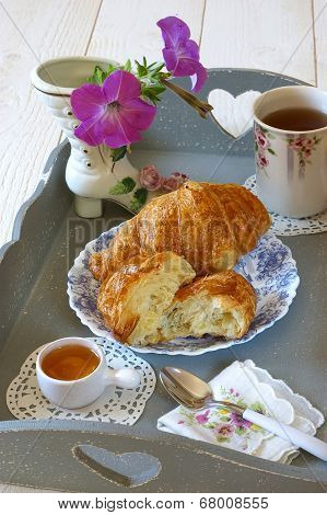 French Breakfast In Provencal Style