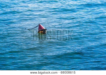 Red Safety Buoy