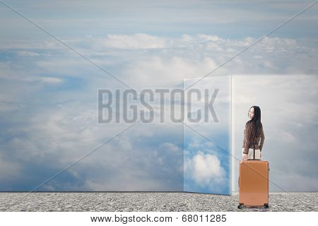 Dream to travel, concept of travel, relax, freedom etc.