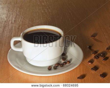 A Cup Of Coffee For Breakfast