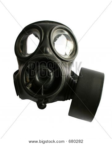 Black Gas Mask